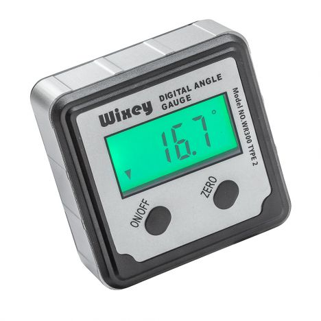 Wixey digital angle gauge with backlight