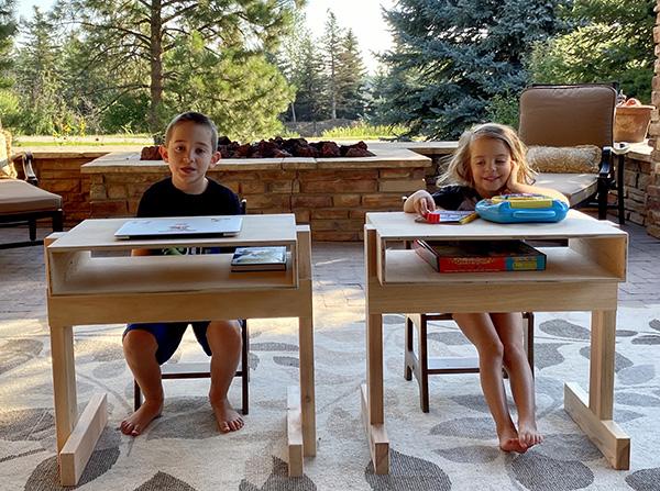 wood whisperer Kids desk plan