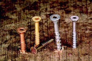 flat head wood screws