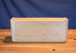 bent plywood form