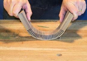 bending walnut wood