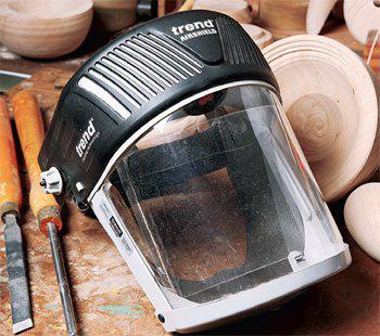 woodturning safety mask