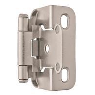 Wrap-around semi-concealed hinge