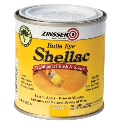 Zinsser bullseye clear shellac