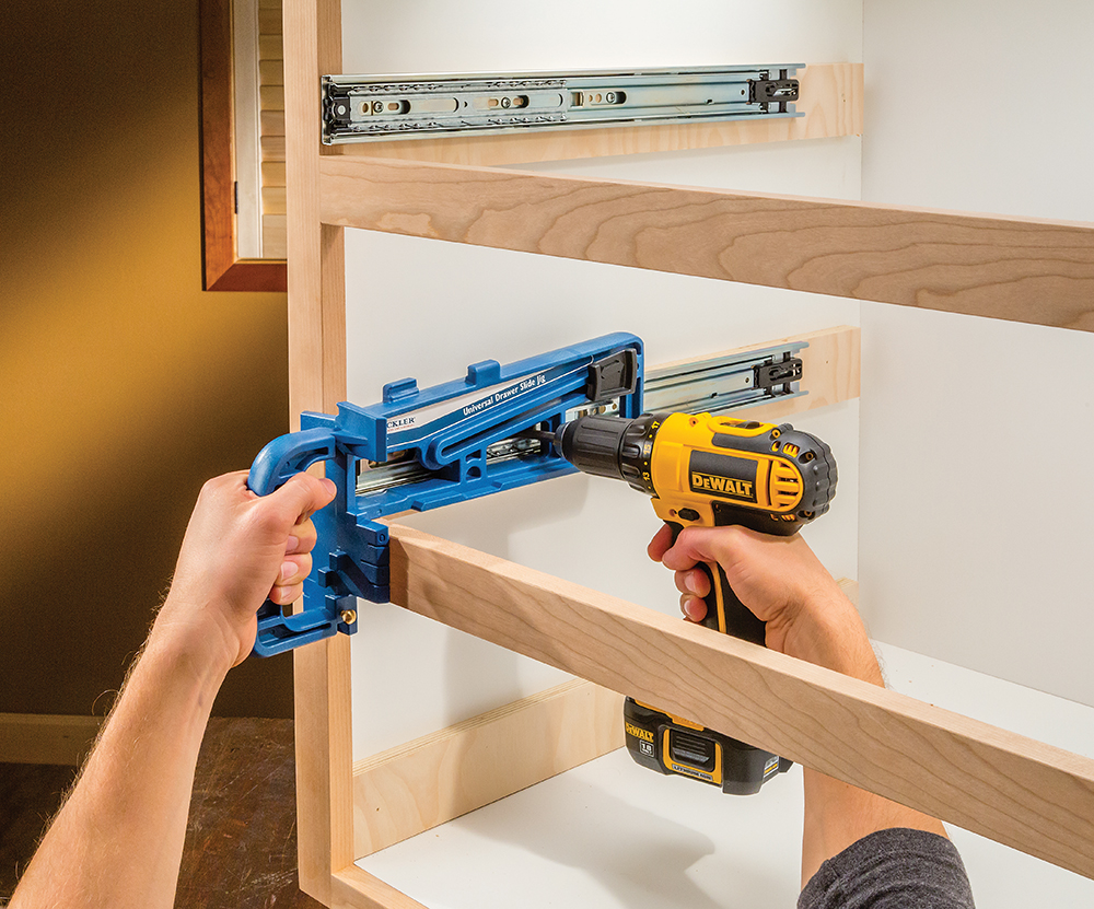 Perfect Universal Drawer Slide Jig