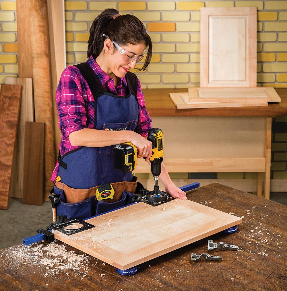 sc 1 st  Rockler Woodworking & Rockler Simplifies Concealed Hinge Installation