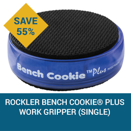 Save on this Rockler Bench Cookie® Plus Work Gripper (Single)