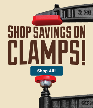 Clamps Currently On Sale
