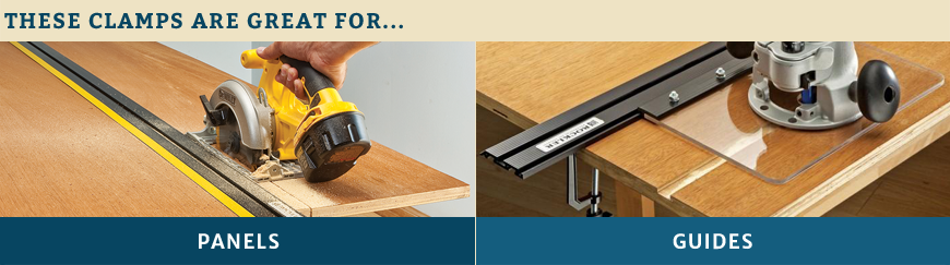 Clamped Guides Applications