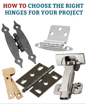 How to choose the Right Hinge for Your Project