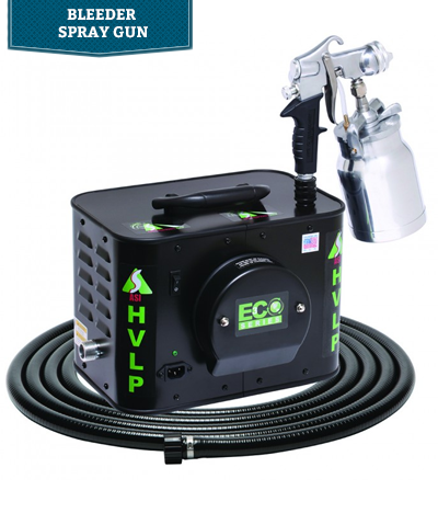 Apollo ECO HVLP Spray Systems & E5011 Bleeder Spray Gun