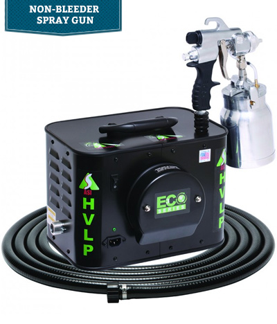 Apollo ECO HVLP Spray Systems with E5011 Non-Bleeder Spray Gun