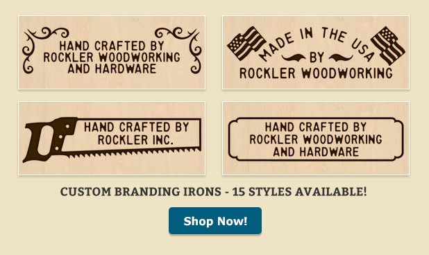 Wood Branding Irons at Rockler | Custom