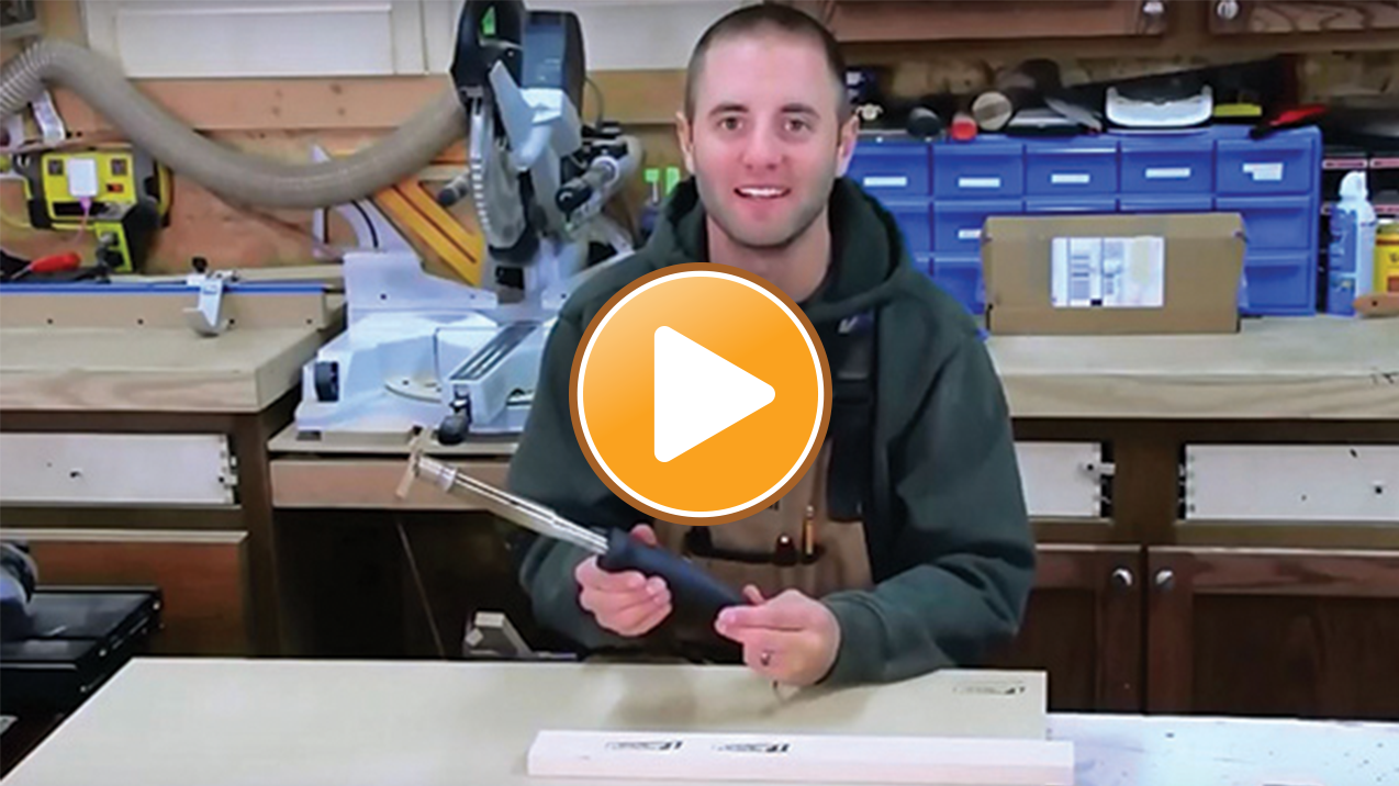 Wood Branding Iron Review Video by Andy Glass Impressions