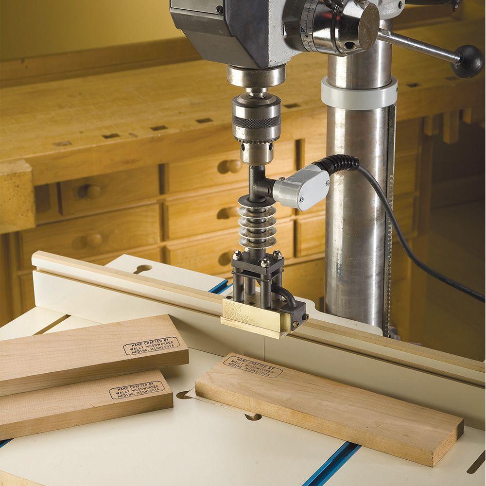 Drill Press Branding Irons