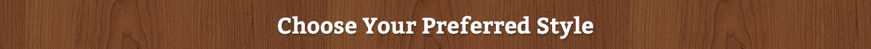 Wood Brand Style Banner