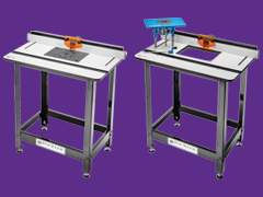 FREE $100 Gift Card with any Phenolic Router Table Stand Package or Router Table Lift Package