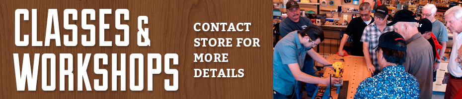Rockler Woodworking Classes and Workshops