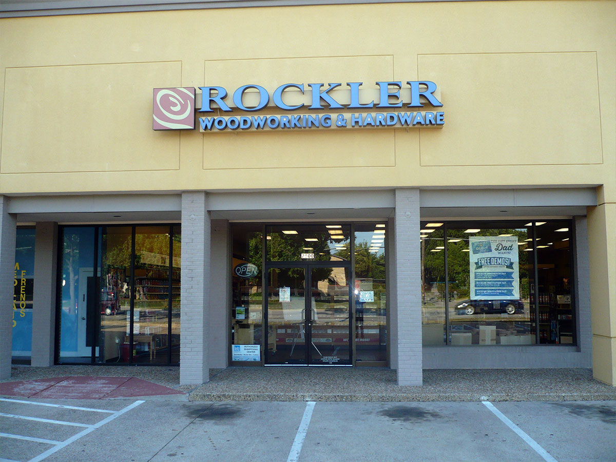 Visit our Richardson Rockler location to shop our quality selection of exotic lumber, specialty wood-stock, hardware, power tools and other woodworking project essentials.