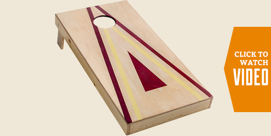 Bag Toss Board Make and Take