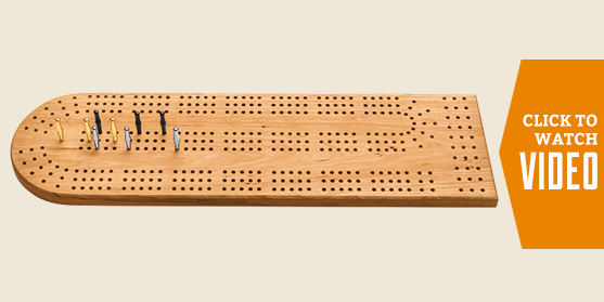 Wooden Cribbage Board Make and Take