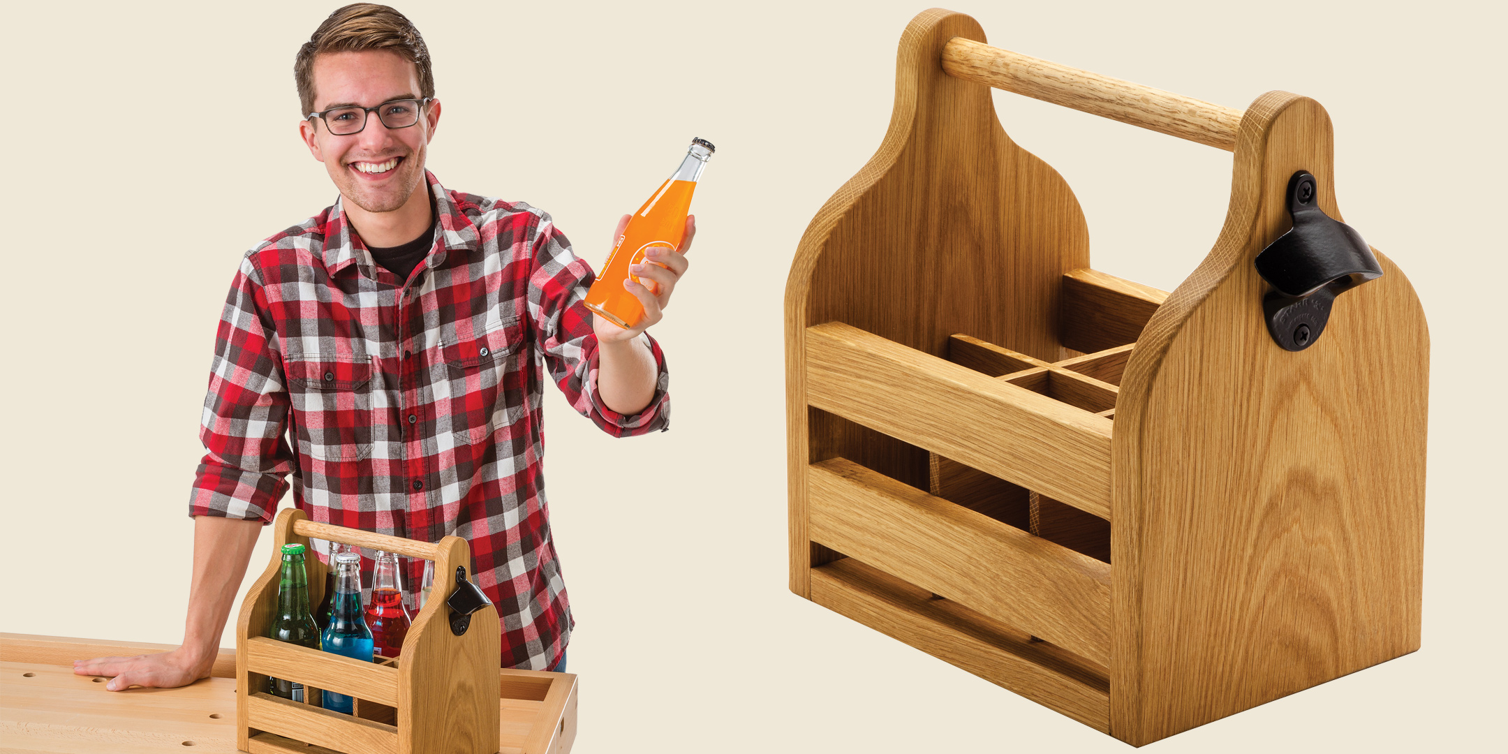 Build Your Own Beverage Caddy Make and Take