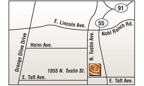 orange store map