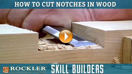 Cutting Notches for Lap Joints with a Circular Saw