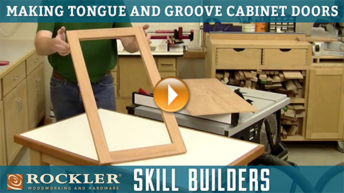 How to Make Tongue and Groove Cabinet Doors