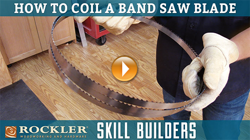 How to Coil and Store Band Saw Blades