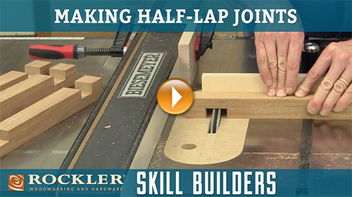 How to Cut Half-Lap Joints with a Table Saw