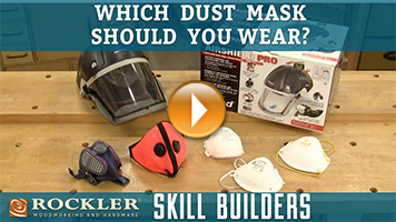 Which Dust Mask Should Woodworkers Wear?