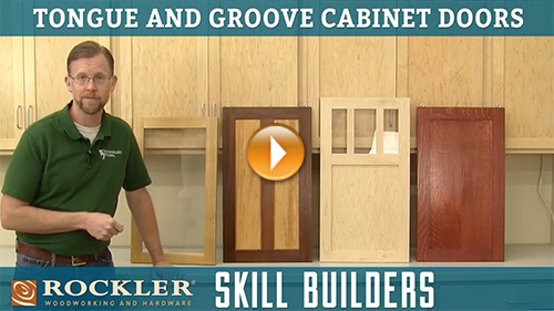 Intro to Tongue and Groove Cabinet Doors