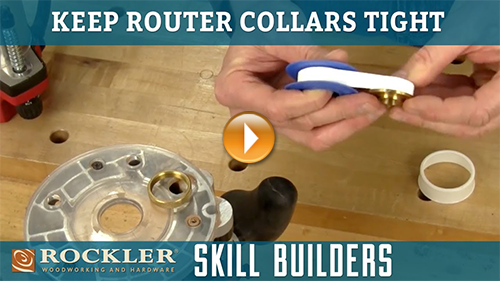 How to Keep Router Guide Collar Tight