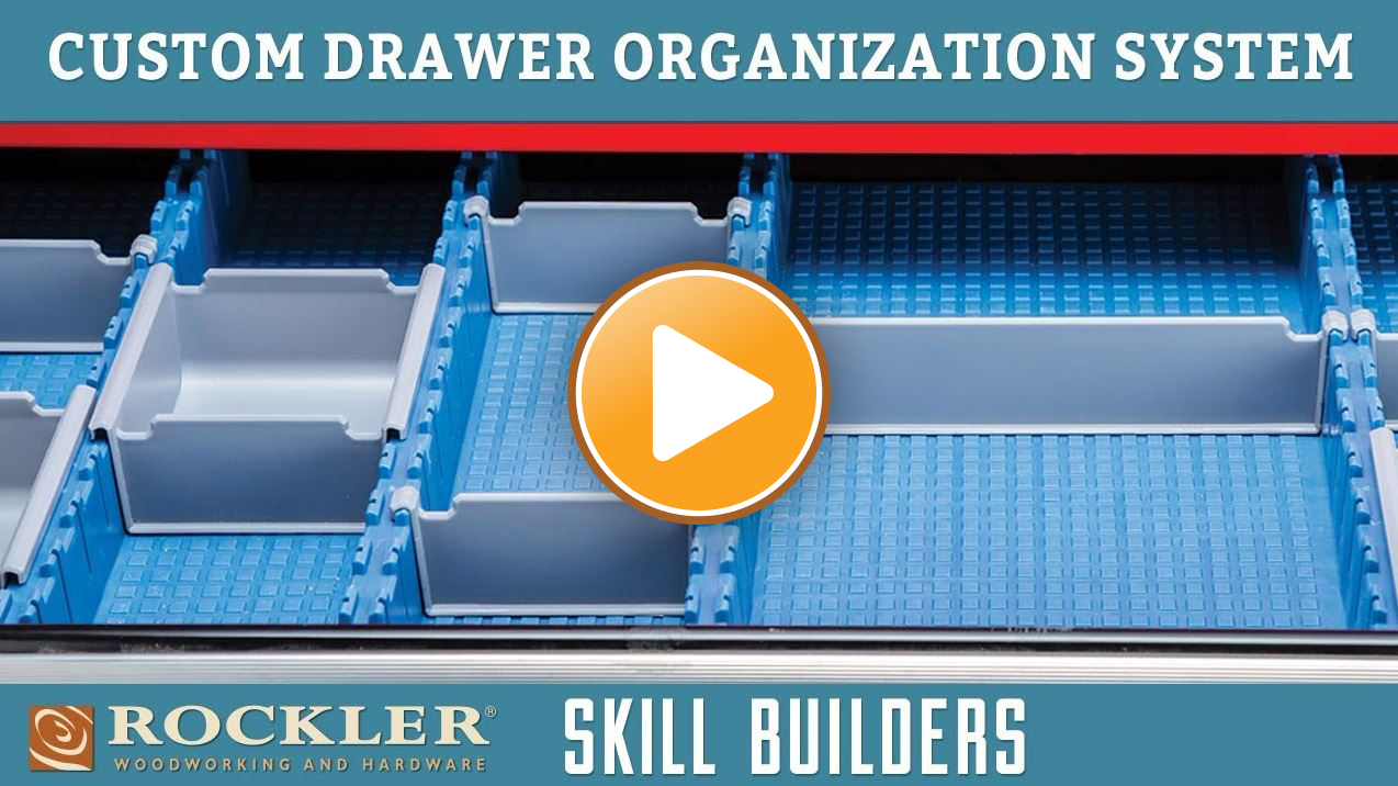 Organizing Drawers with the Lock-Align System