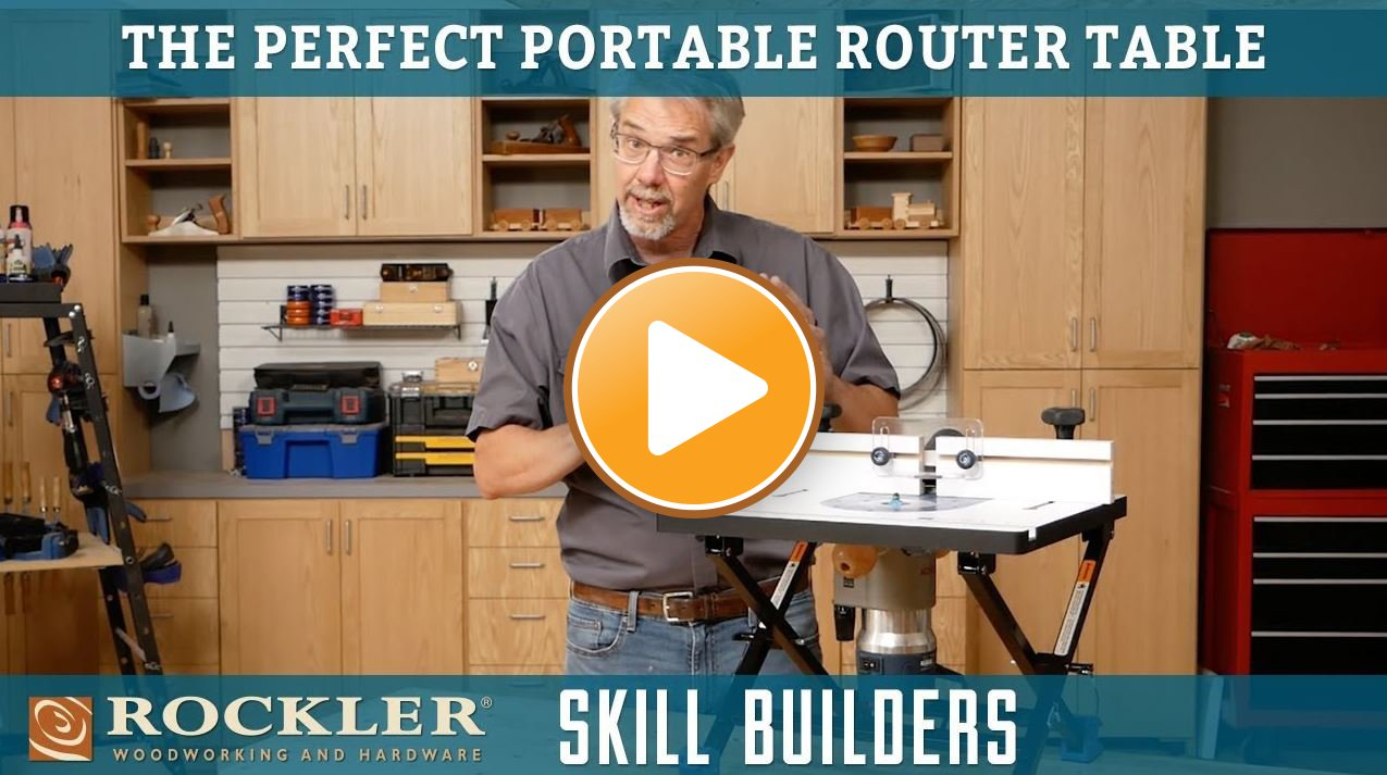 The Perfect Portable Router Table