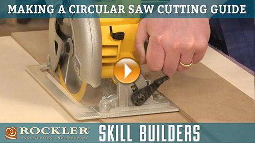 Make a Simple Circular Saw Cutting Guide
