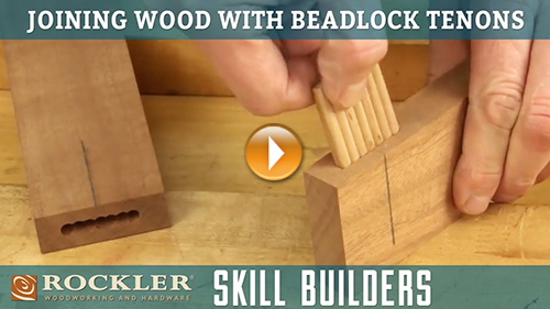 Building Furniture with BeadLock Floating Tenons