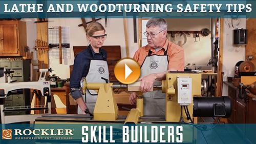 Wood Lathe and Woodturning Safety Tips