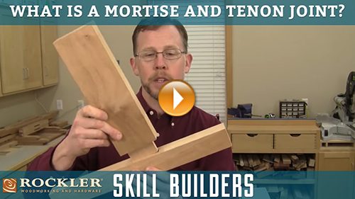 What is a Mortise and Tenon Joint?