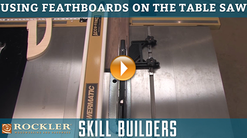 Using Featherboards for Safe Table Saw Cuts