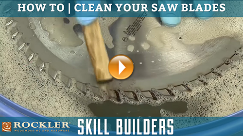 How to Clean Your Saw Blades