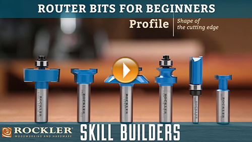Router Bits for Beginners