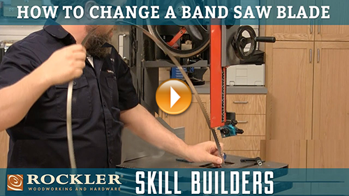 How to Change a Band Saw Blade
