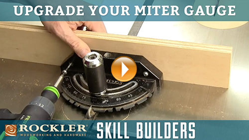 Best Upgrade for Your Table Saw Miter Gauge