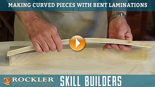 Making Curved Pieces with Bent Lamination