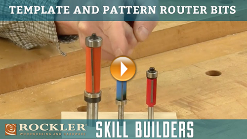 Router Bits for Cutting Templates and Patterns