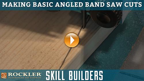 Tips for Making Basic Angled Band Saw Cuts