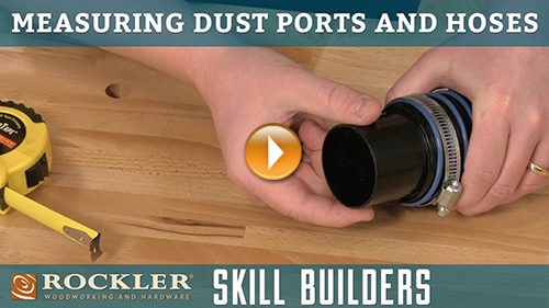 Measuring Dust Ports and Dust Hoses