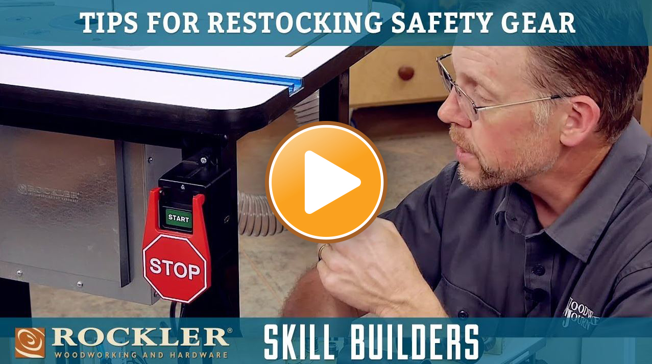 Tips for Restocking Your Shop Safety Gear